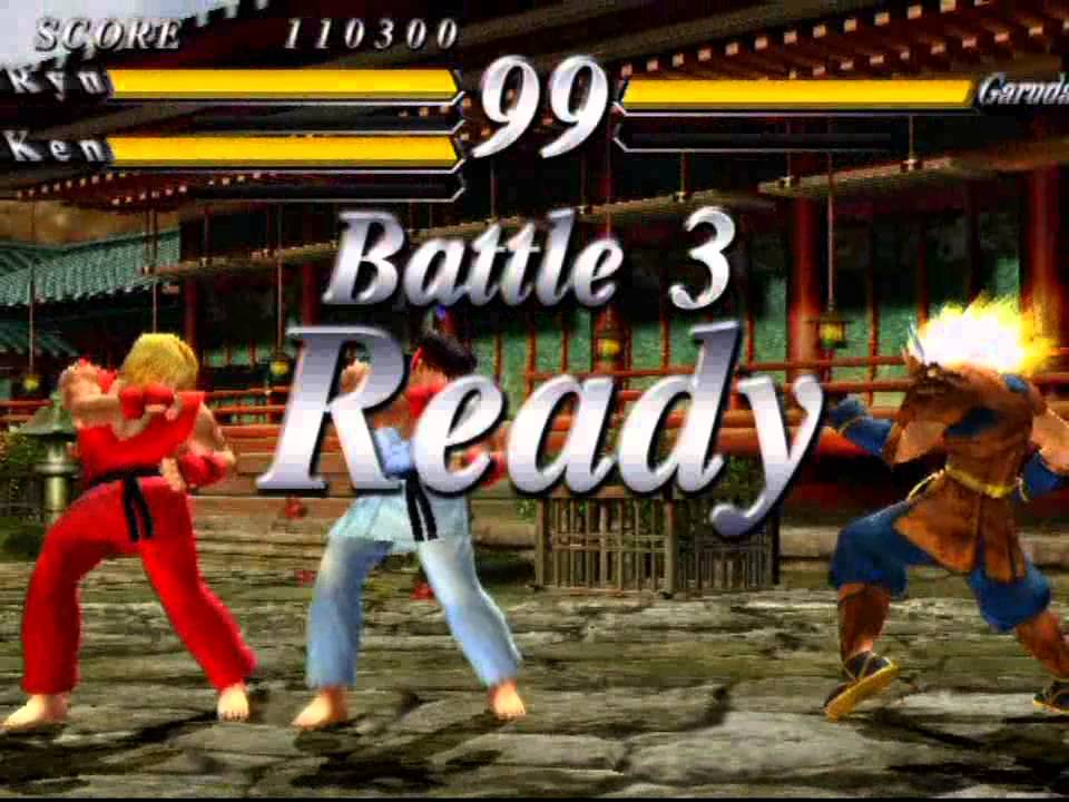 Street Fighter Ex 3 Playstation 2 Original Mode As Ryu Youtube