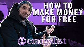 "How to ACTUALLY Make Money for Free | The Craigslist ""Free"" Section"