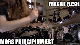 "Mors Principium Est - ""Fragile Flesh"" - DRUMS"