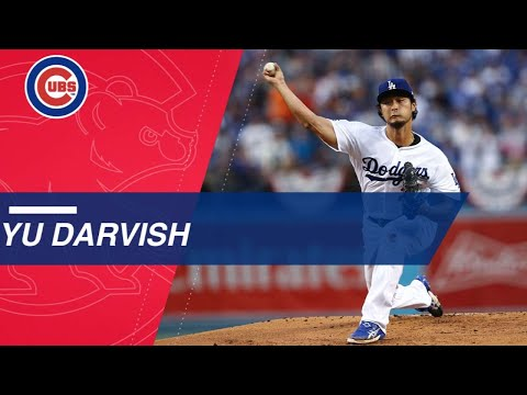 Check out some highlights from new Chicago Cub pitcher Yu Darvish
