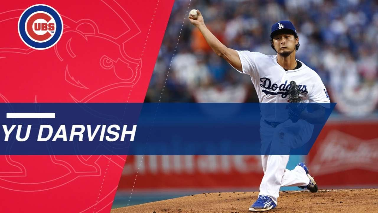 Preview: Yu Darvish Set to Take Mound as Cubs Look for Second ...