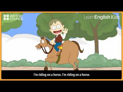 Over the mountains - Nursery Rhymes & Kids Songs - LearnEnglish Kids British Council