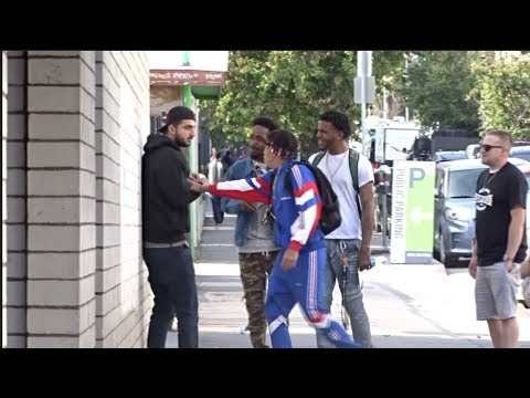 Do You Want To See My Nuts Prank IN THE HOOD!
