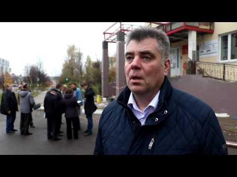 Обход Главы г.о. Краснознаменск Андрея Ильина здания Скорой помощи