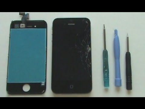 Iphone Screen Repair Tutorial Verizon Sprint Cdma