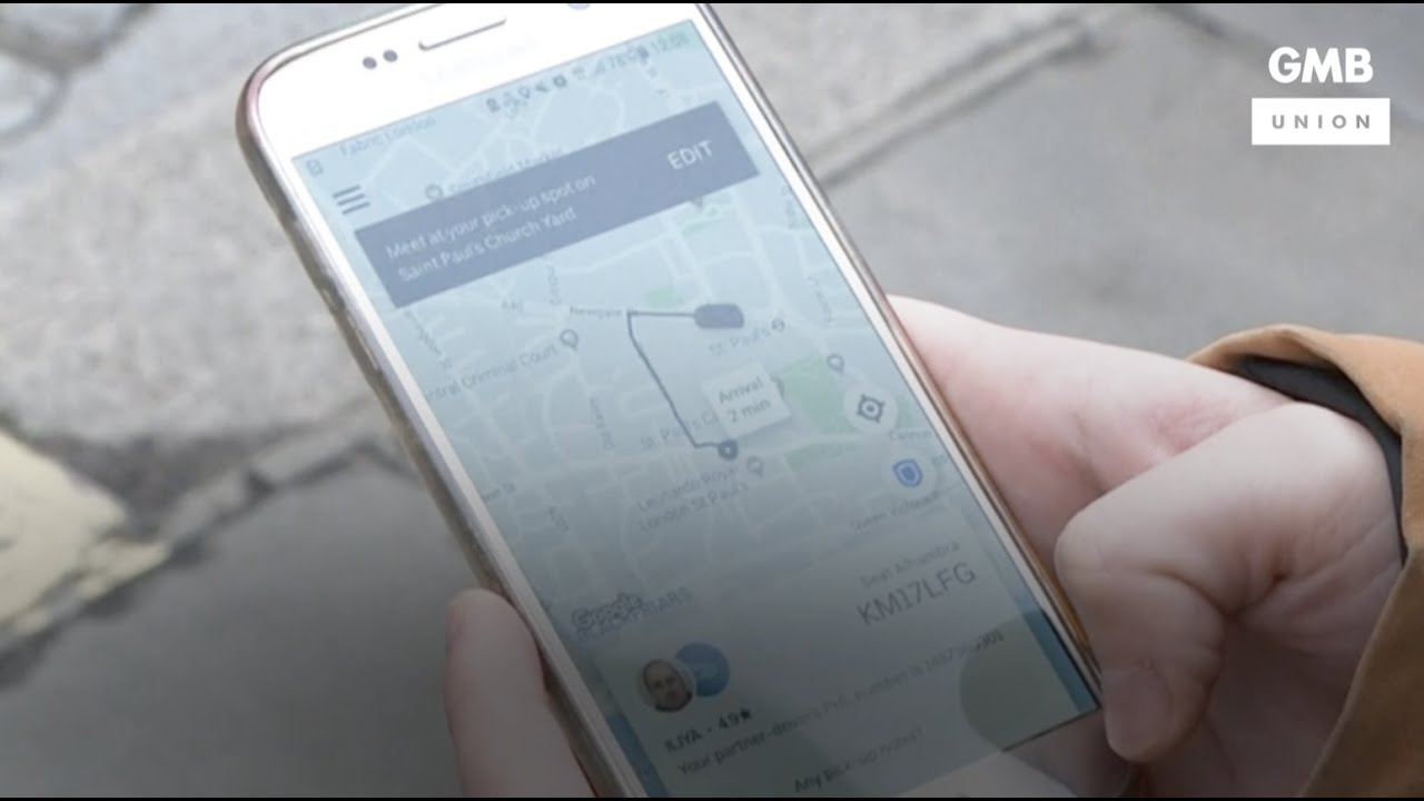 GMB and Uber strike historic deal | BBC News