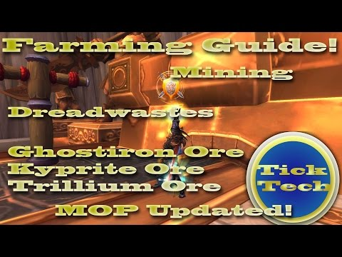 Mining Guide | Ghost Iron, Kyprite, Trillium - Dreadwaste