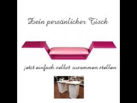 Nagelstudio Tisch Selbst Zusammen Stellen Tischplatten Und Zubehor