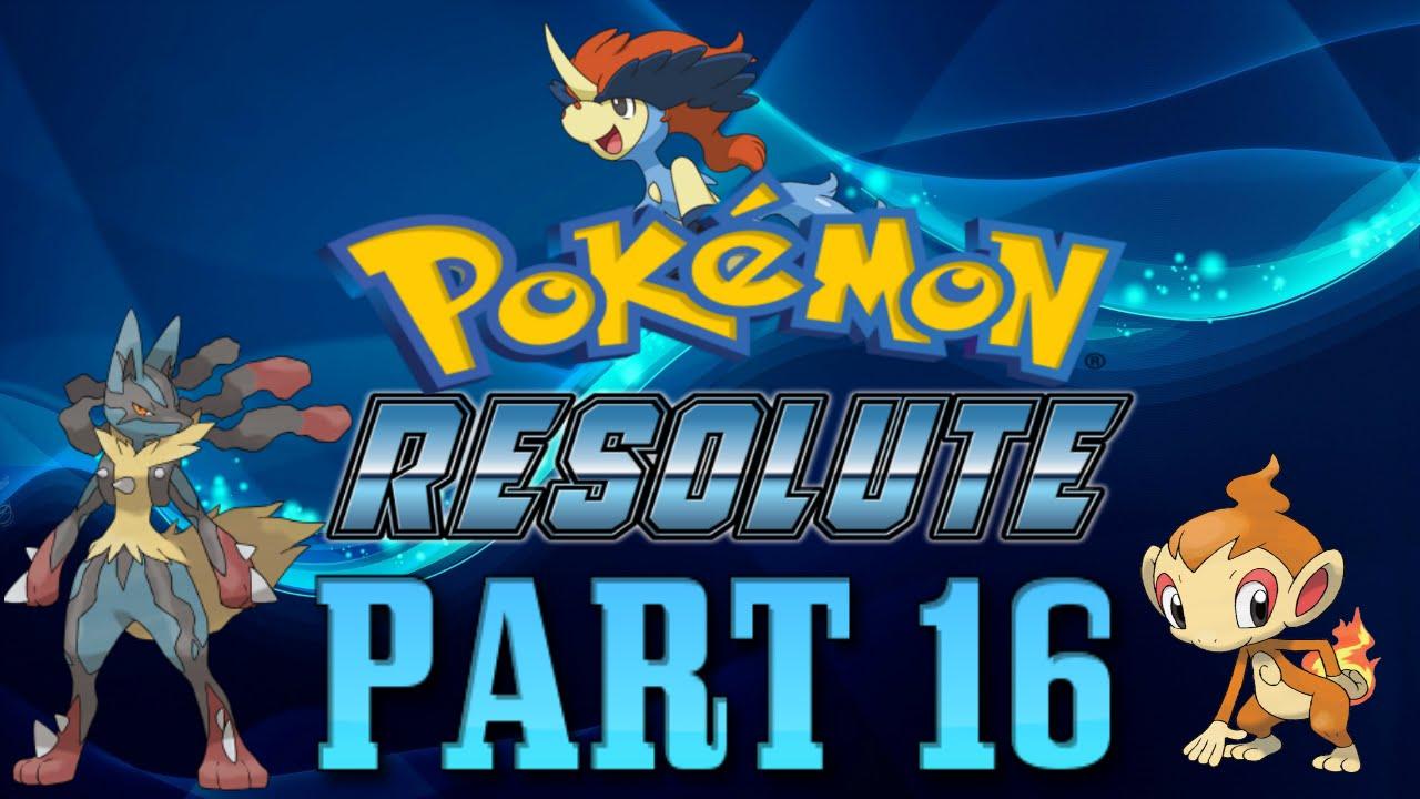 pokemon resolute mega rock cheat code