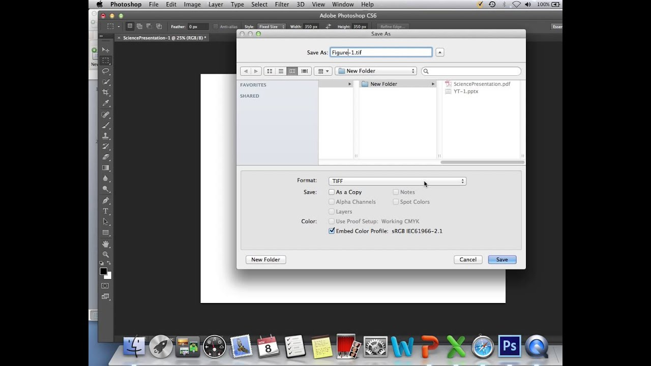 How To Create Publication Quality 300 Dpi ImagesFigures From PowerPoint Slides YouTube