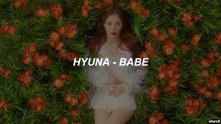 HyunA - BABE // Sub. español
