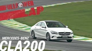 Mercedes-Benz CLA200 no FULLPOWER LAP: estilo e segurança ele tem. Esportividade, não.