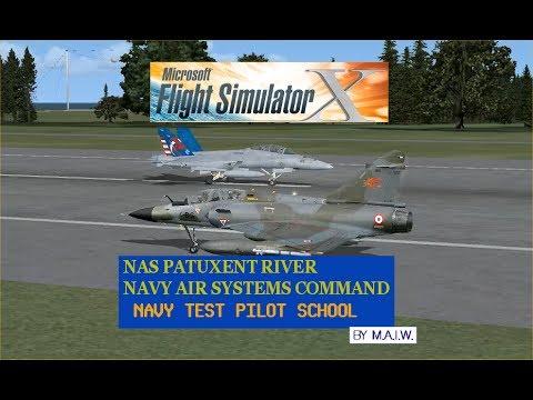 Flight Simlator X - NAS PATUXENT RIVER  NAVY TEST PILOT SCHOOL