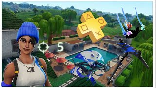 Fortnite PS Plus Pack #3 Gameplay