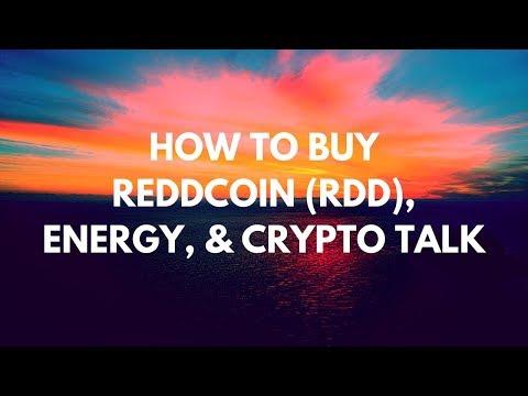 ReddCoin RDD Webinar, How To Buy ReddCoin, Exchanges, Energy & Crypto Talk