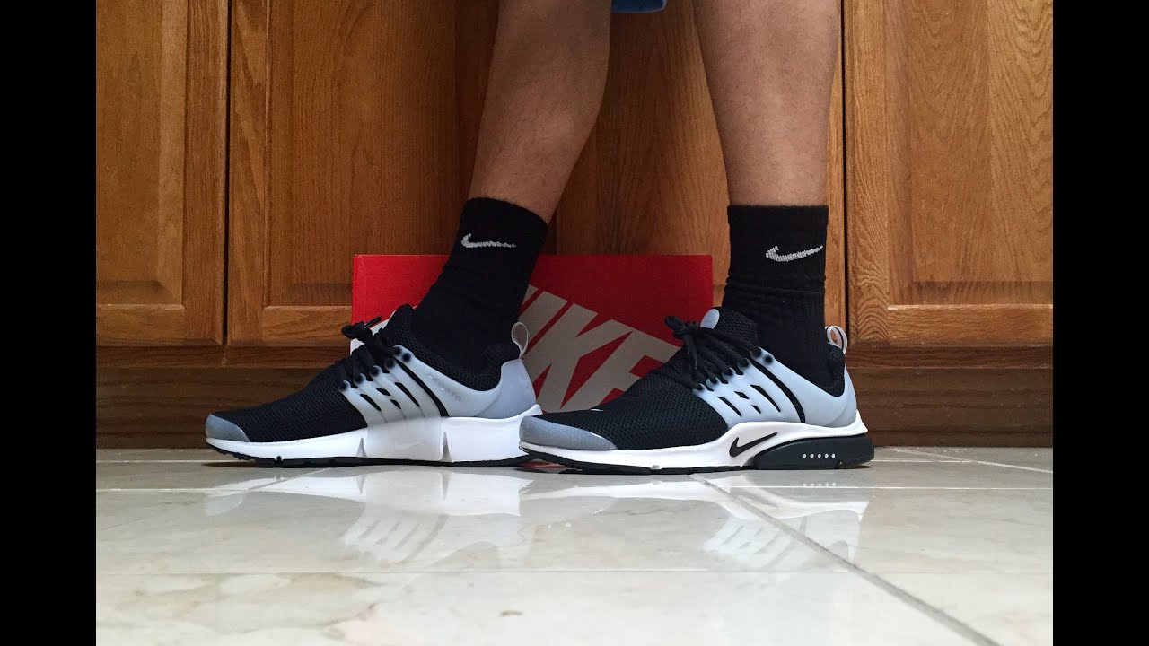 Nike Air Presto Black On Feet