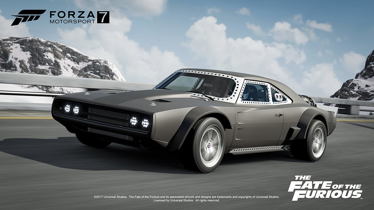 Forza 7 News First Car Pack Fast And Furious 8 Fate Of The