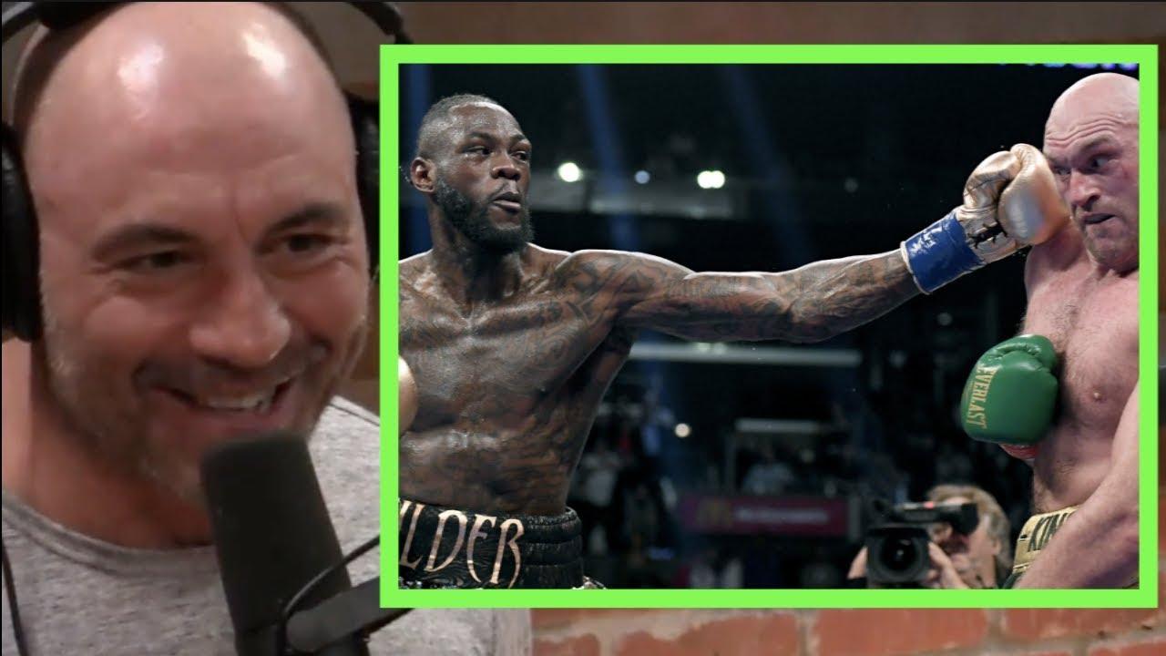 Joe Rogan on Tyson Fury vs. Deontay Wilder Being a Draw