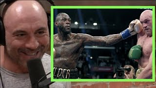 Joe Rogan on Tyson Fury vs. Deontay Wilder Being a Draw