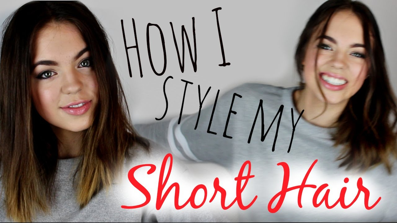 style with short hair how to style hair 3 easy hairstyles 3759 | maxresdefault