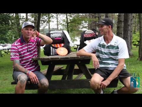 2015 PDGA Proworlds After Round 3 Interview Patrick Brown and Ken Climo