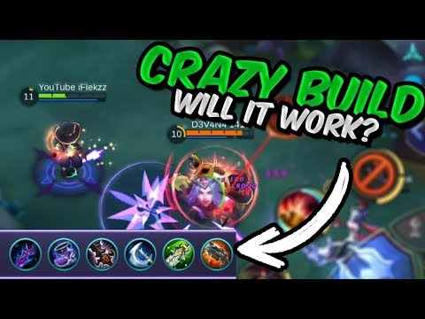 CRAZY HARLEY FULL PHYSICAL BUILD! Will it work? Mobile Legends
