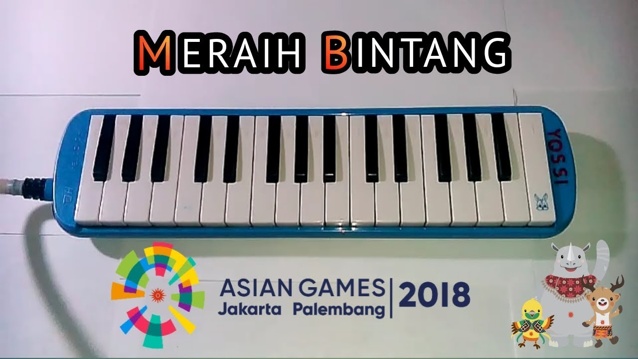 Meraih Bintang Via Vallen Pianika Cover Youtube