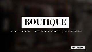 Rashad Jennings Shops with Stylist, Rivals Cruz and Beckham Jr. | BOUTIQUE --- Carson St Clothiers