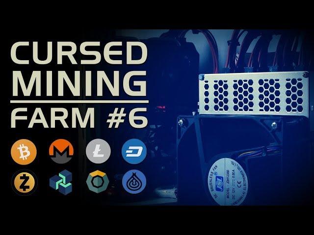 Cursed Mining Farm #6: September 2018 - Z9mini CPU GPU Octominer L3++ Baikalminer Antminer