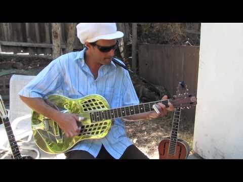 Acoustic Blues Guitar - Original Song by Ben Powell - Guitar Jamz