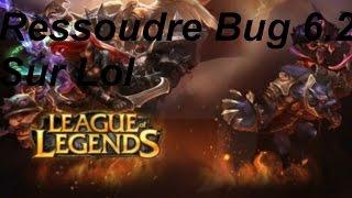 Regler Le Probleme de Crash de League of Legend depuis la 6.2
