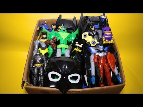 New Toy Box! Cars, Legos, Fidget Spinners, Batman Action Figures and More