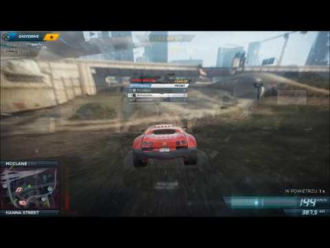 NFS: Most Wanted 2012: Bugatti Billboards Party HD