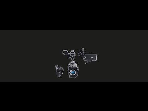Filippo Chiesa presenta la Sony compatta pxw-fs5 @ Adcom