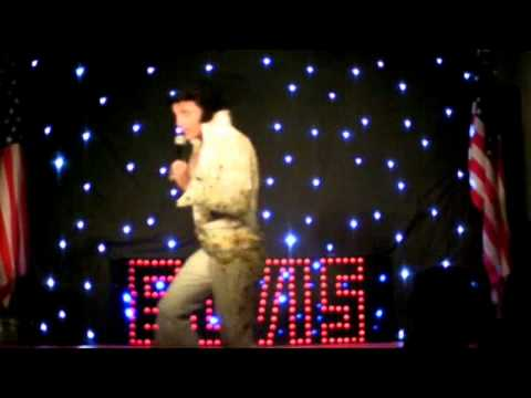 Chris Field as Elvis - I Just Cant help Believing
