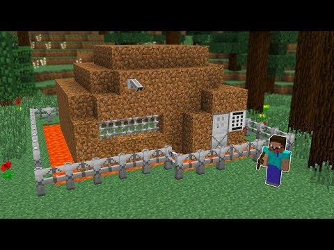 NOOB VS EV GÜVENLİ NOOB EVİ! - Minecraft