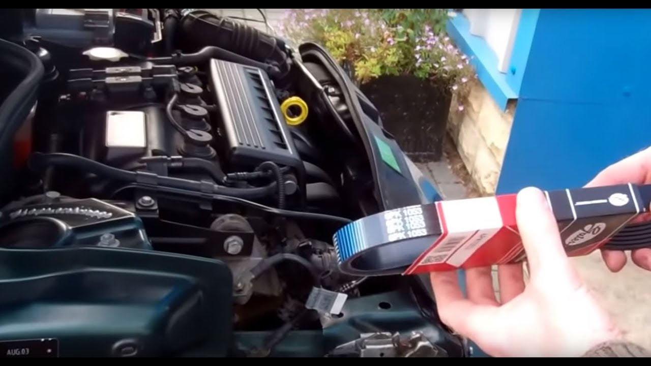 How To Change Alternator Belt On Bmw Mini Cooper And One Youtube 2005 Engine Diagram