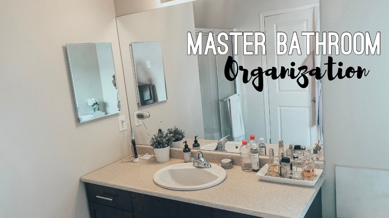 Organize Declutter With Me 2019 Master Bathroom Organization Ideas Youtube