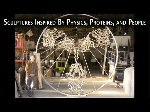 """LECTURE: """"Sculptures Inspired By Physics, Proteins, and People"""" by Julian Voss-Andreae (1 Hour)"""