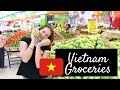 VIETNAM GROCERY SHOPPING | PRICES INCLUDED