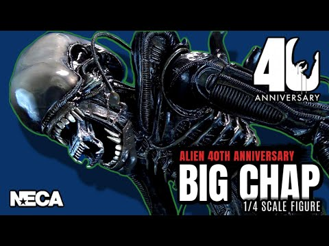 NECA Alien 40th Anniversary Big Chap 1/4 Scale Alien | Video Review HORROR