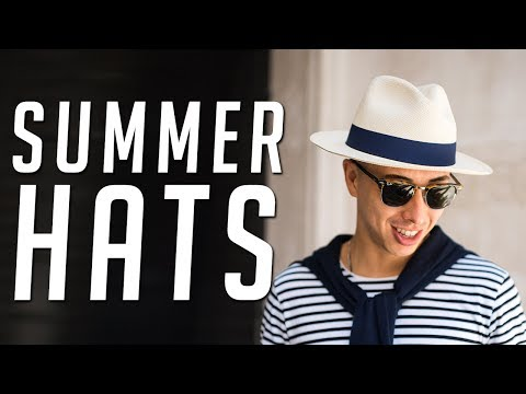 2 Hats to Wear This Summer || Summer Style Lookbook Haul 2017 || Gent's Lounge
