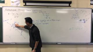 Perpendicular Distance (2 of 2: Deriving the Formula)
