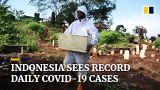Indonesia Hits Record Daily Covid-19 Caseload As Total Infections Pass 2 Million