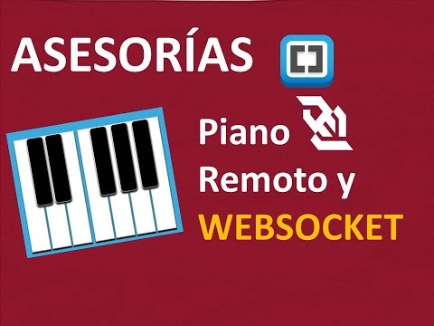 Piano remoto  con Websocket y achex.ca (Servidor websocket)- Javascript,jQuery,css,html Websocket