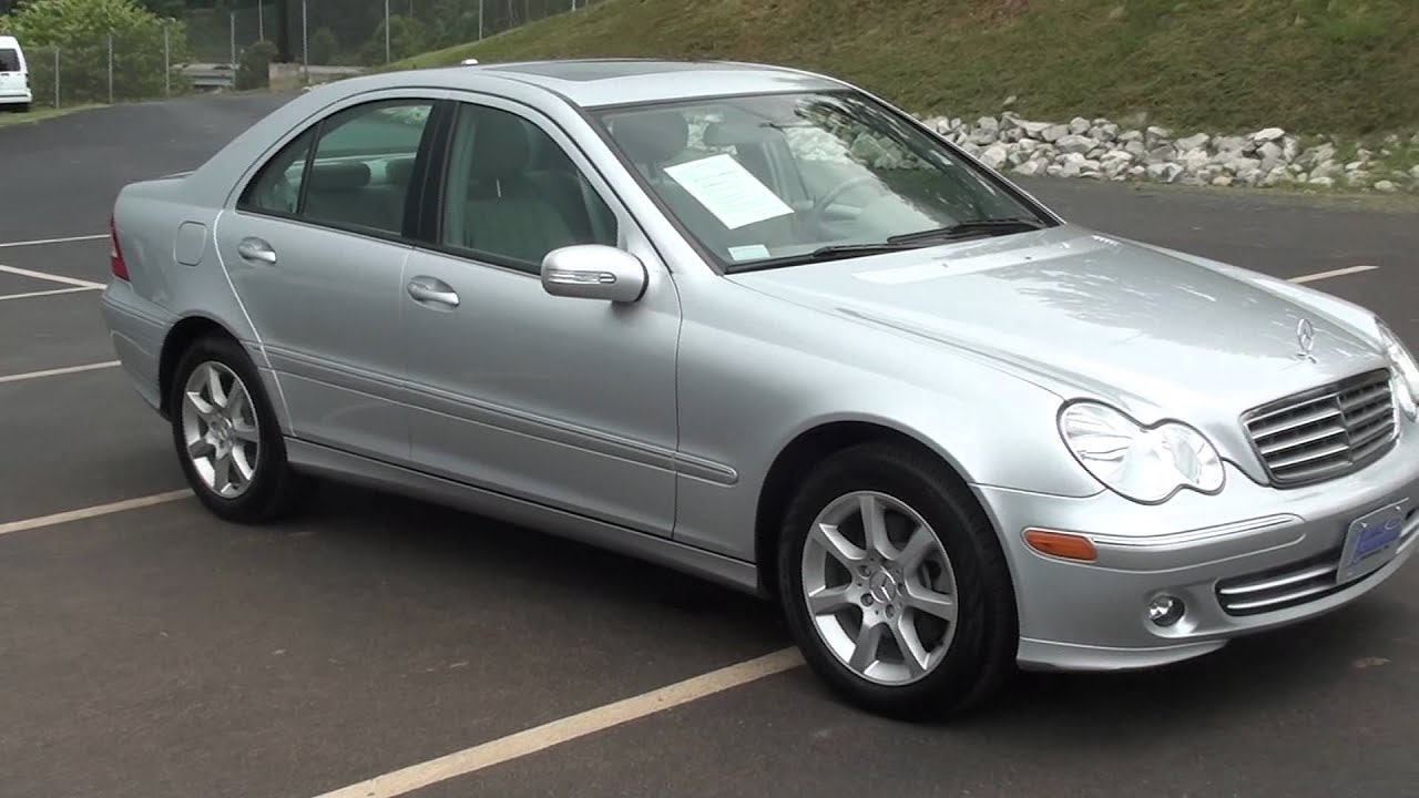 for sale 2007 mercedes benz c280 c class luxury stk