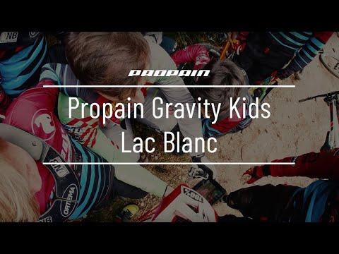 Propain Gravity Kids in Lac Blanc mit Marcus Klausmann