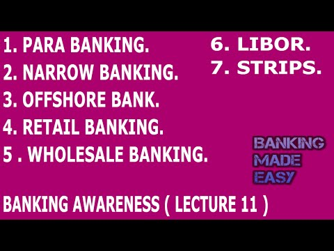 Banking Awareness | Important Banking Terminolgy | Lecture 11 | Bank Po