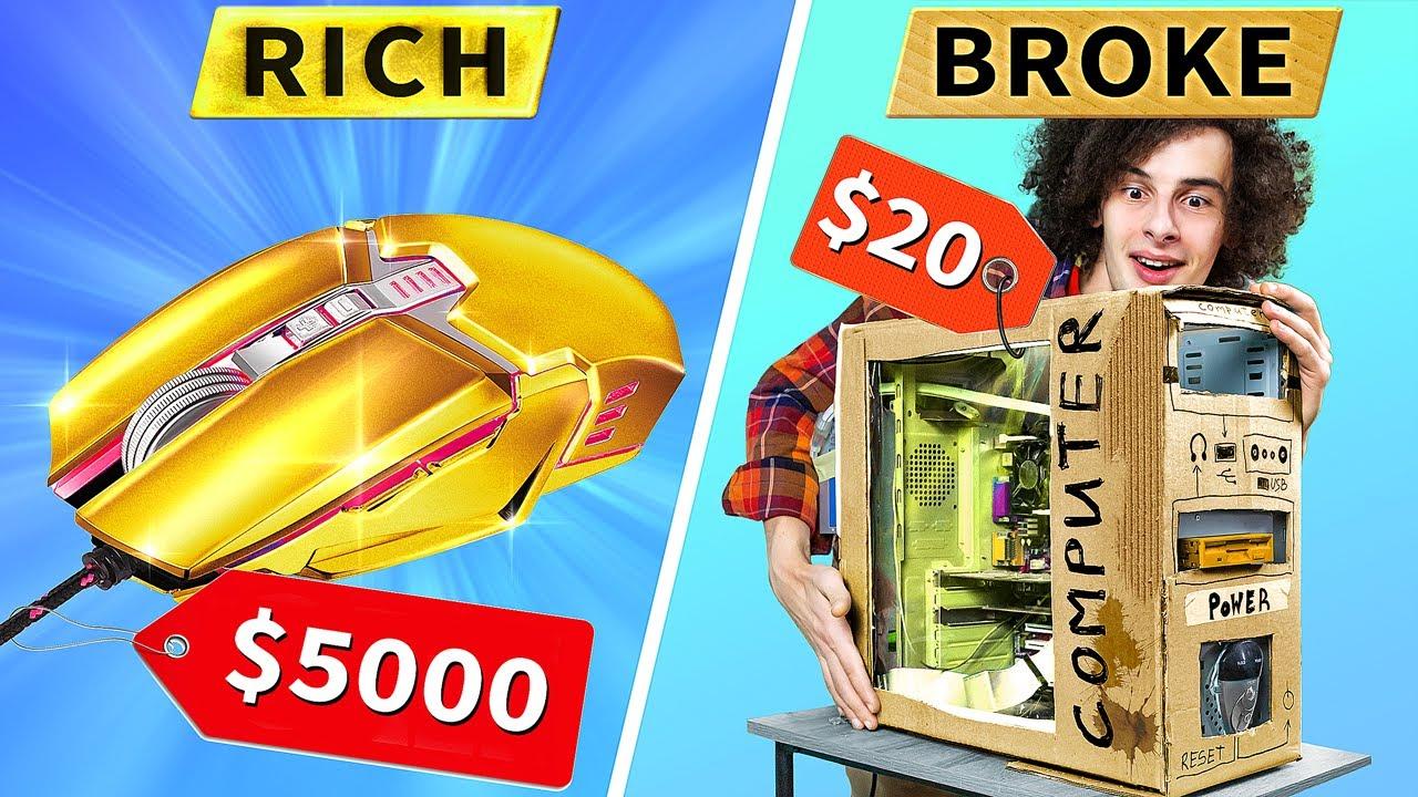 เกมเมอร์สุดร่ำรวย vs  เกมเมอร์ไม่ค่อยมีเงิน