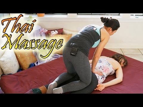 Thai Back Massage For Beginners - How To Give Back Massage Asian Style Techniques